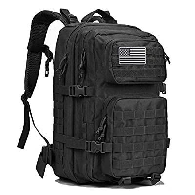 G4Free Military Tactical Backpack Large Army 3 Day Assault Pack Molle Bug Out Bag Backpack Rucksacks for Outdoor Hiking Camping Trekking Hunting