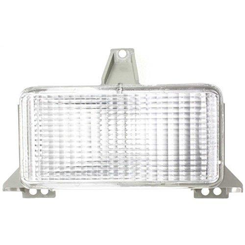 Evan-Fischer EVA22272012900 Parking Light for Chevrolet Suburban 83-88 Right or Left Lens and Housing W/Single Head Lamps Right or Left (Chevrolet C10 Suburban Parking Light)