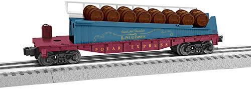 Lionel Trains - The Polar Express Barrel Ramp Car, O Gauge