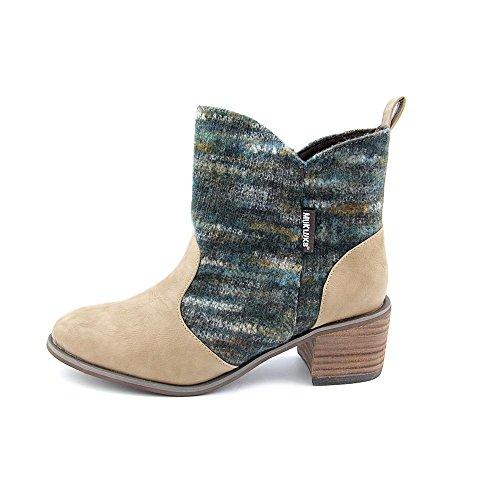 Muk Luks Womens Chloe Short Boot Da Cowboy Marrone