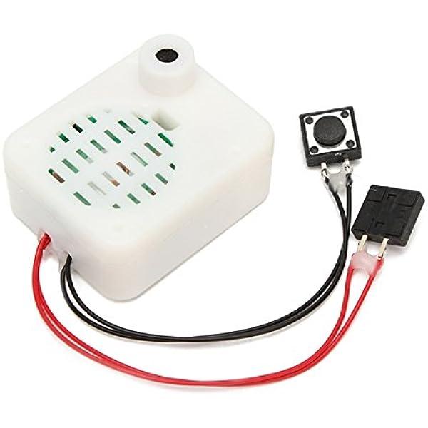 LaDicha 30S Botón De Voz Grabable Módulo De Música Caja De Sonido para El Regalo De Peluche Muñeca De Juguete: Amazon.es: Hogar