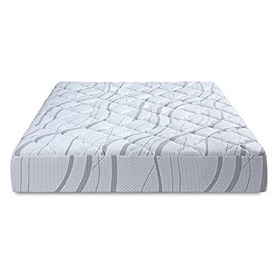 PrimaSleep 9 inch Aurora Multi-Layered I-Gel Infused Memory Foam Mattress