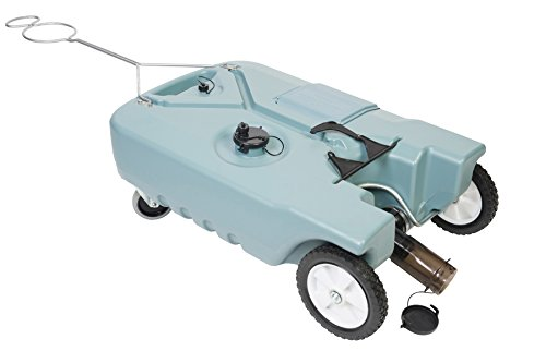 (Tote-N-Store 20129 Portable Waste Transport 4 Wheeler, 38 Gallon)