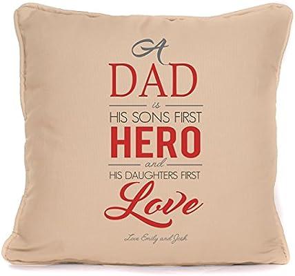 Personalizado de Papá Sons primer héroe, hijas primer amor ...