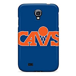 Best Hard Cell-phone Case For Samsung Galaxy S4 With Unique Design Beautiful Nba Cleveland Cavaliers 5 Series SherriFakhry