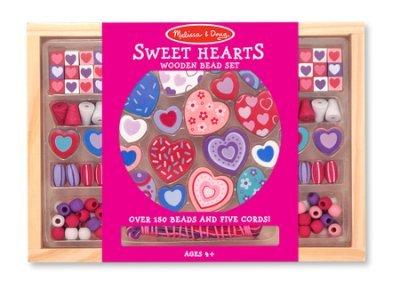 (LearNplay Sweet Hearts Bead Set)