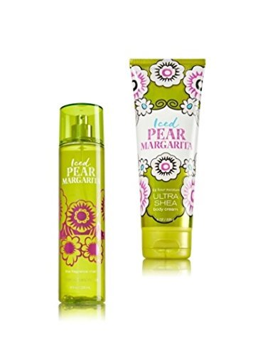 Cheap Bath and Body Works Iced Pear Margarita Fragrance Mist and Body Cream Set