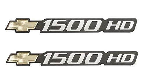 silverado 1500 door emblem - 5