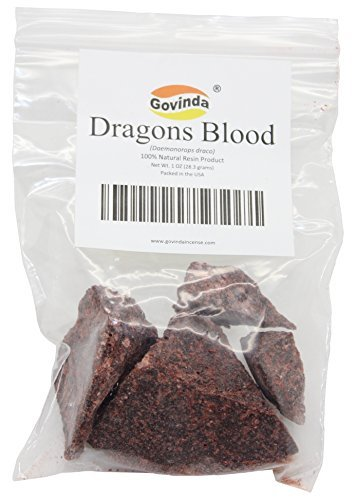 Govinda® - Dragon's Blood Natural Resin Incense - 1 Ounce