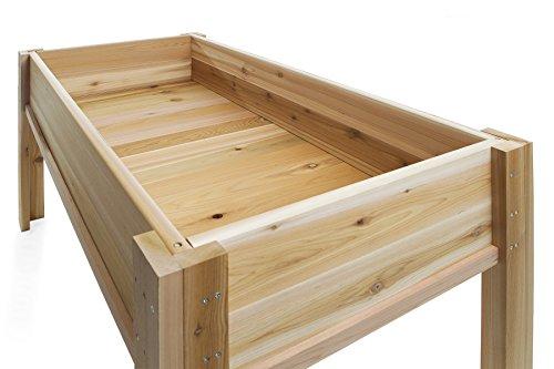 All Things Cedar Raised Garden Box with Legs, 4' by All Things Cedar (Image #1)