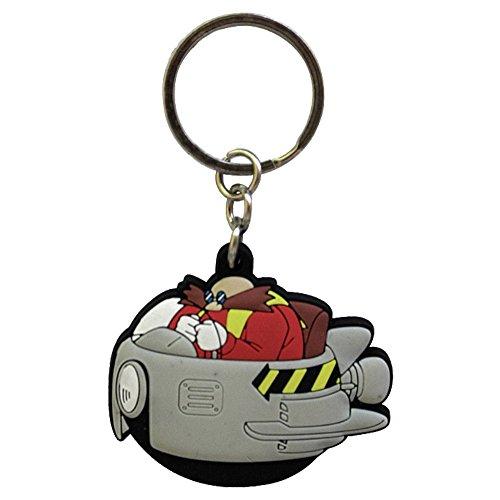 Sonic The Hedgehog ABYKEY085 Dr Robotnik Eggman PVC Keychain