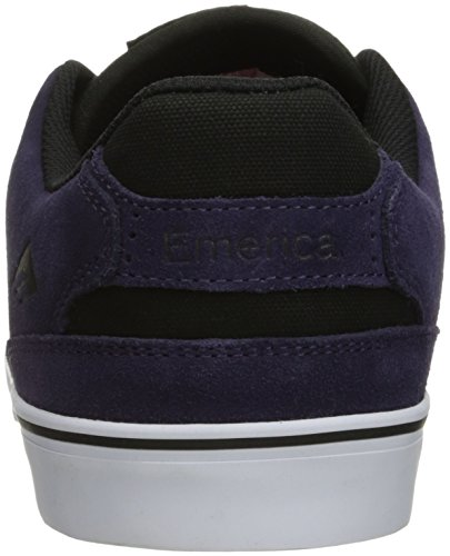 Emerica The Reynolds Low Vulc, Color: Purple/White, Size: 40 EU / 7.5 US / 6.5 UK