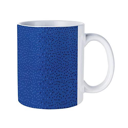 DKISEE Abstract Scandia Coffee Mug Novelty 11oz White Ceramic Mug Birthday Christmas Anniversary Gag Gifts Idea ()