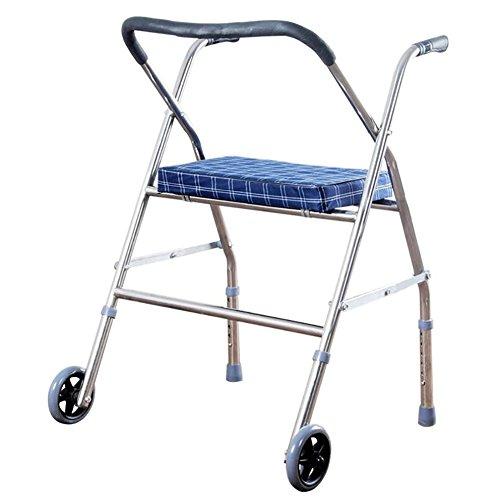 TOPLIFEE Andador Muy Ligero Y Plegable | Fácil Uso Y Transporte | Caminador para Adultos, Personas Mayores Y Ancianos,...