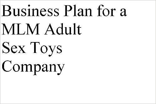 Business plan sex toys