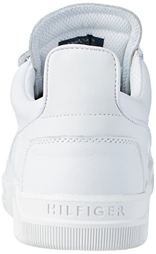 Tommy T2385yke 4a Homme Sneakers White 100 Basses Hilfiger Blanc 6Fq6Cwv