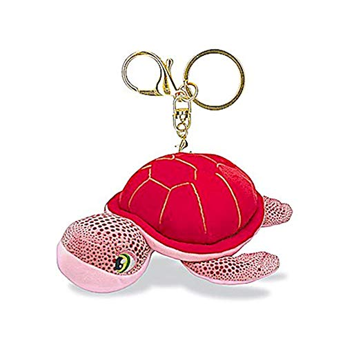 (Welcome to the Islands Key Chain Plush Honu Turtle Pink 4.4 W x 2.2 inch)