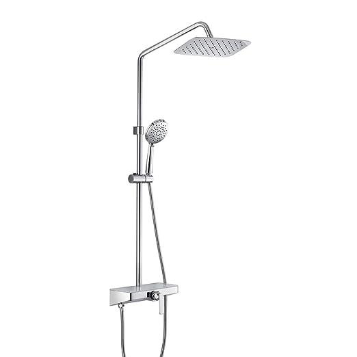 LLYY® Set de Ducha, Sistema Baño Columna Ducha/Grifos Ducha y ...