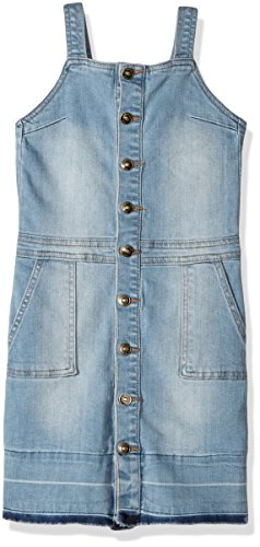 (HUDSON Girls' Big Kelly Skirtall, Vintage Blue, L)
