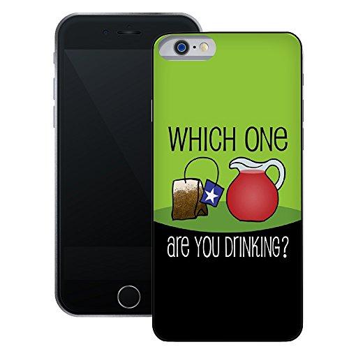 Tee Party | Handgefertigt | iPhone 6 6s (4,7') | Schwarze Hülle