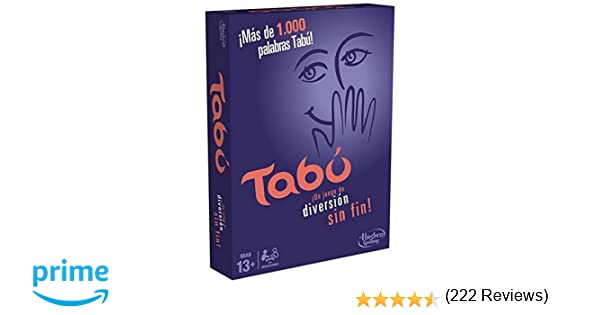 Hasbro Gaming Gaming Tabú Clásico (Hasbro Spain A4626105): Amazon ...