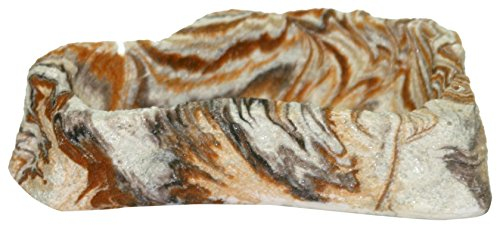 Rock Garden 4.75 x 3.25 x 1.5 Earthtone Bowl, Small by Rock Garden