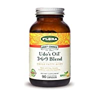Udo's Choice, Omega 369 Oil Blend, Vegetarian Capsules, 90 Count