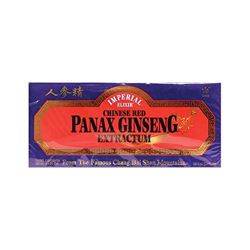 (Imperial Elixir Chinese Red Panax Ginseng Extractum 10 Vials by Imperial Elixir)