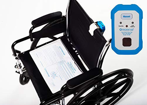 rm with Chair Pad Sensor :: Complete Fall Prevention System :: Comes with 9V Battery, DC Adapter, 3 Mounting Options, Rubber Case, Screws & Magnetic Pull Cord by Patient Aid ()