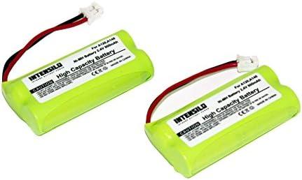 INTENSILO 2X NiMH batería 800mAh (2.4V) para teléfono Fijo inalámbrico Siemens Gigaset AL145 Duo, AL14H, AS14 por V30145-K1310-X359.: Amazon.es: Electrónica