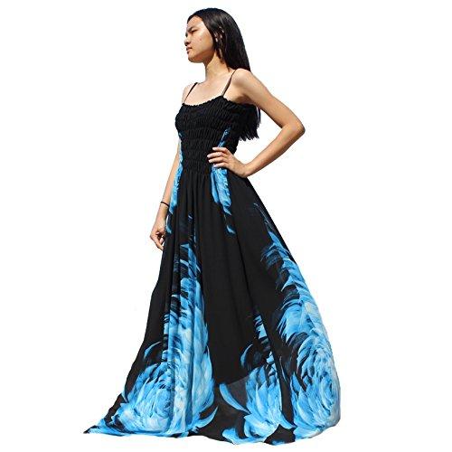 59bd9d51bfde MayriDress Maxi Dress Plus Size Clothing Black Ball Gala Party Sundress  Evening Long Floral Women