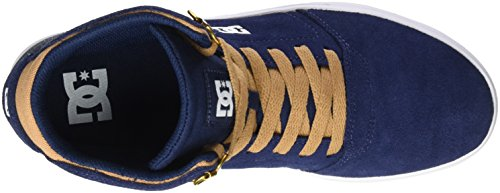 DC Shoes Herren Crisis High Sneaker Blau (Navy/Camel)