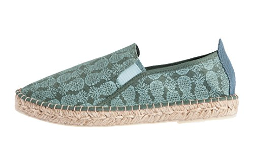 Corcovado Casimiro Perez Green Design Homme Forest Stamp Espadrilles Pineapple With qva7aw5