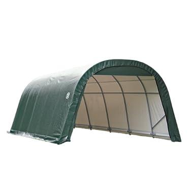 ShelterLogic 71342 Green 12'x20'x8' Round Style Shelter