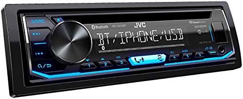 JVC KD-TD70BT CD Receiver Featuring Bluetooth/USB/Pandora/iHeartRadio/Spotify/FLAC / 13-Band EQ by JVC