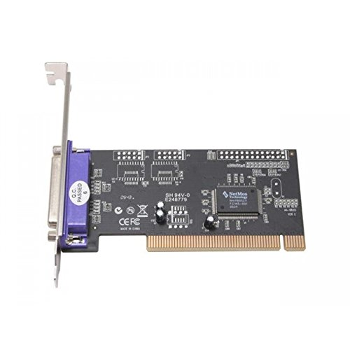 Rosewill Single Parallel (SPP/PS2/EPP/ECP) Universal Low-Profile PCI card Components Other RC-302