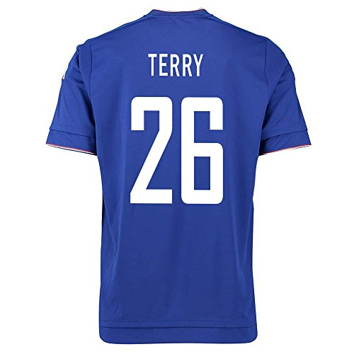 Adidas Terry #26 Chelsea Home Soccer Jersey 2015-2016 YOUTH (YM)