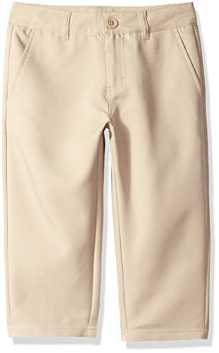 Starter Girls' Golf Club Uniform Capri Pant, Khaki, M (7/8) - Girls Golf Starter