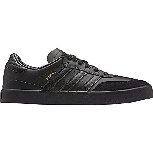 Adidas Busenitz Vulc Samba Edition Skate Shoes Mens - Black/Black/Dgh Solid Grey Suede/Leather 11.5 D(M) US (Adidas Skate Shoes Busenitz)