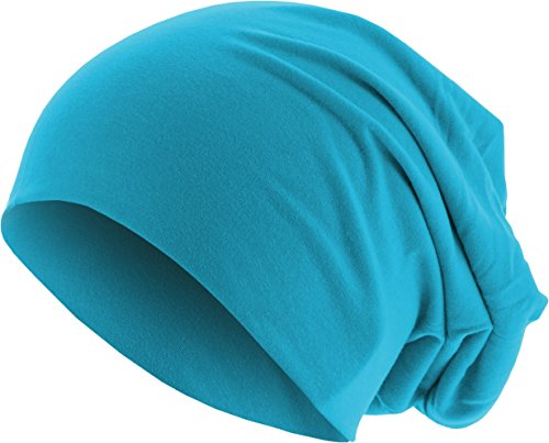 Adulto turquoise MSTRDS de Beanie 3415 Gorros Türkis Punto Unisex Jersey xvqBwHvC1