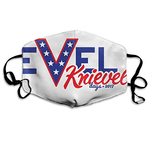 Evel Knievel Days 2017 Mouth Chic Mask Unisex Dust Protecting Chic Mask Reusable Chic Mask for Men and -