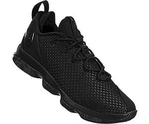 4b67c20b508c ... Nike Lebron XIV Low Men s Basketball Shoes Black Black-. upc  887229120609 product image1. upc 887229120609 product image2