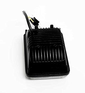 Black H4651 H4656 H4666 4350385868 4x V-Spec 4x6 Premium LED Headlight Conversions