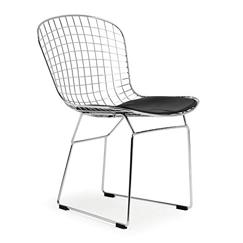 (Poly and Bark Morph Side Chair in Black)