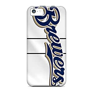 Sdcruz Snap On Hard Case Cover Milwaukee Brewers Protector For Iphone 5c