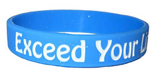 motivational-law-of-attraction-blue-silicone-wristband