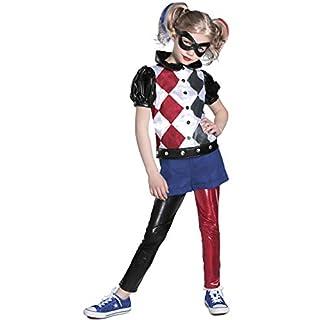 Princess Paradise DC Super Hero Girl's Deluxe Harley Quinn Costume, Large