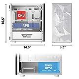darkFlash DLM21 MESH Micro ATX Mini ITX Tower