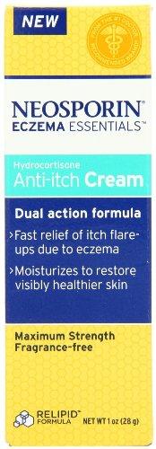 Crème Neosporin eczéma Essentials Hydrocortisine Anti-Itch - 1 oz