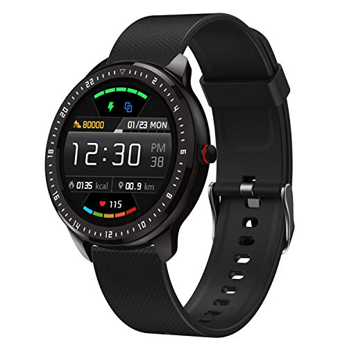 """DoSmarter Fitness Watch, 1.3"""" Touchscreen Smart Watch with Heart Rate Blood Pressure Monitor,Waterproof Fitness Tracker with Sleep Tracking, Pedometer, Calories Counter for Women Men 1"""